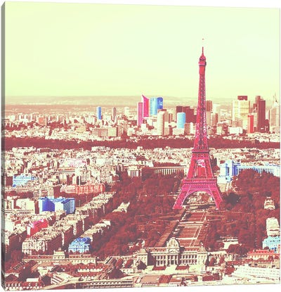 Paris in Color 3 Canvas Art Print