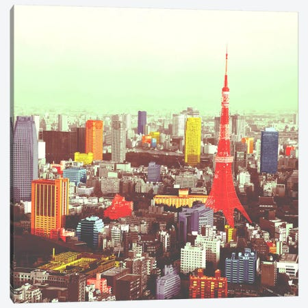 Tokyo in Color Canvas Print #ICA1157} by Unknown Artist Canvas Art