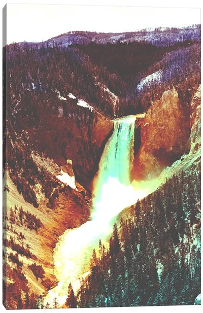Yellowstone in Color Canvas Art Print