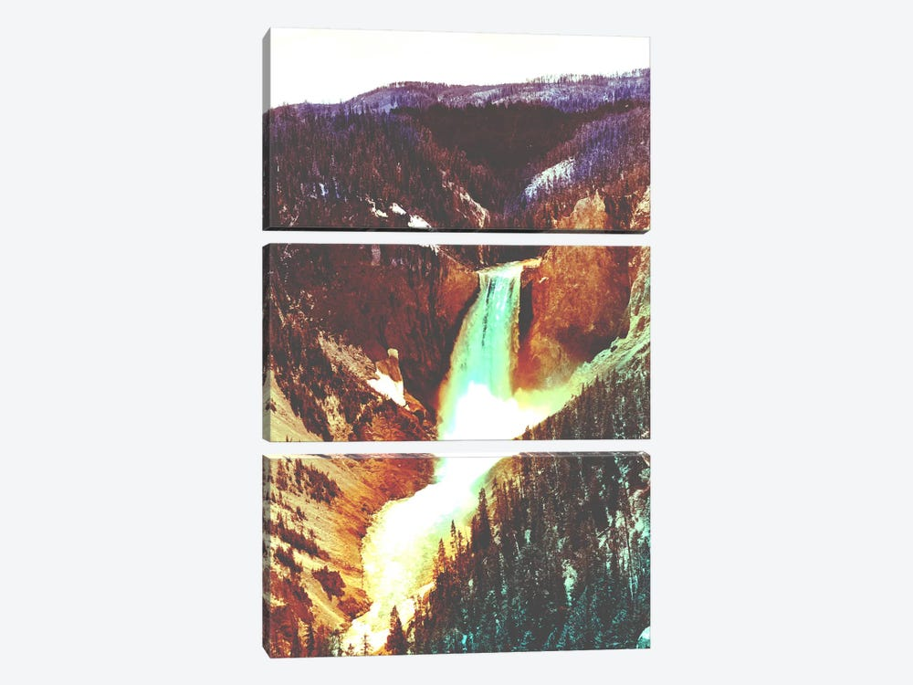 Yellowstone in Color by iCanvas 3-piece Canvas Artwork