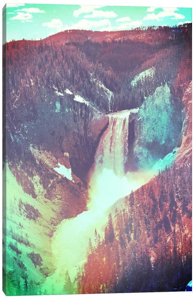 Yellowstone in Color 2 Canvas Art Print