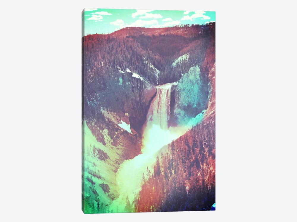 Yellowstone in Color 2 by Unknown Artist 1-piece Canvas Art
