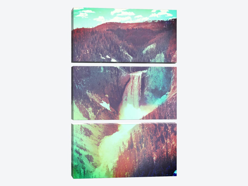 Yellowstone in Color 2 by Unknown Artist 3-piece Canvas Art
