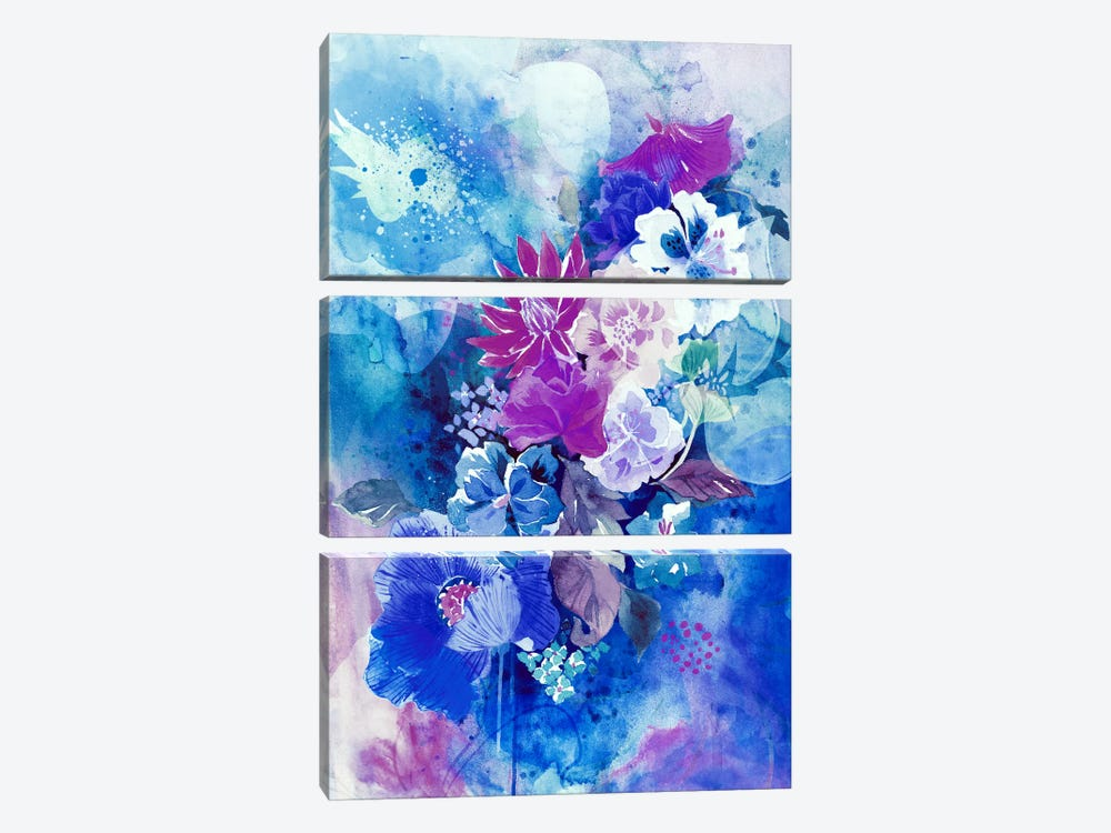 Divine Beauty by 5by5collective 3-piece Art Print