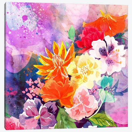 Summer Blossoms Canvas Print #ICA1162} by 5by5collective Canvas Artwork
