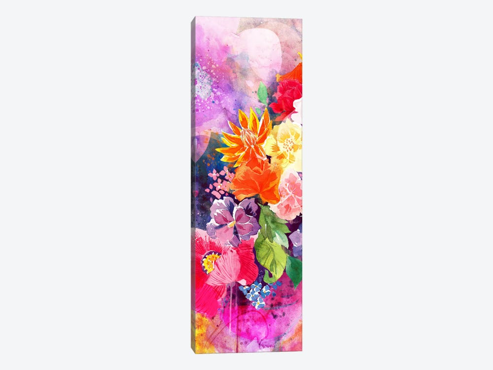 Summer Blossoms Panoramic by 5by5collective 1-piece Canvas Art Print