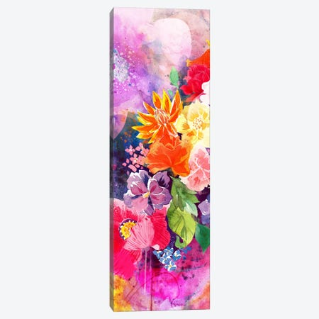 Summer Blossoms Panoramic Canvas Print #ICA1163} by 5by5collective Canvas Art