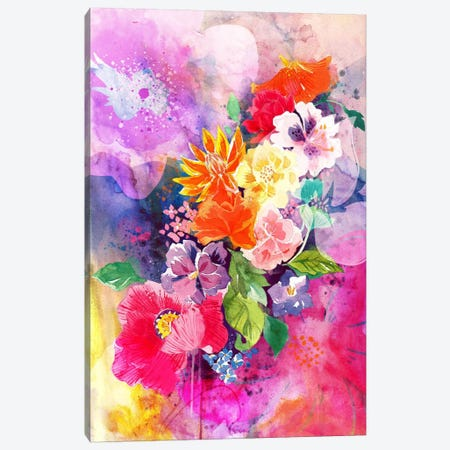 Spring Flowers Canvas Print #ICA1164} by 5by5collective Canvas Print