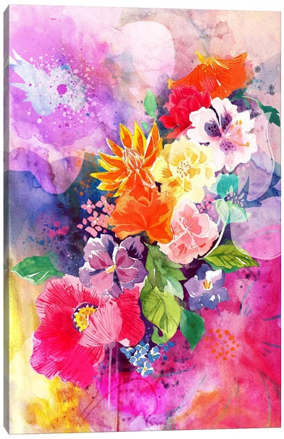 Spring Flowers Canvas Art Print