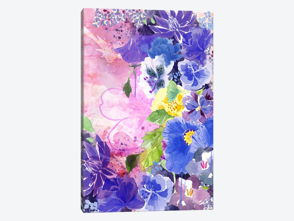 Blossoms by 5by5collective 1-piece Canvas Print