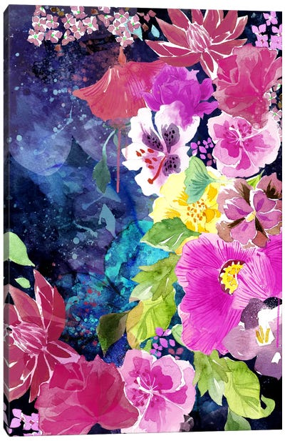 Everlasting Flowers Canvas Art Print
