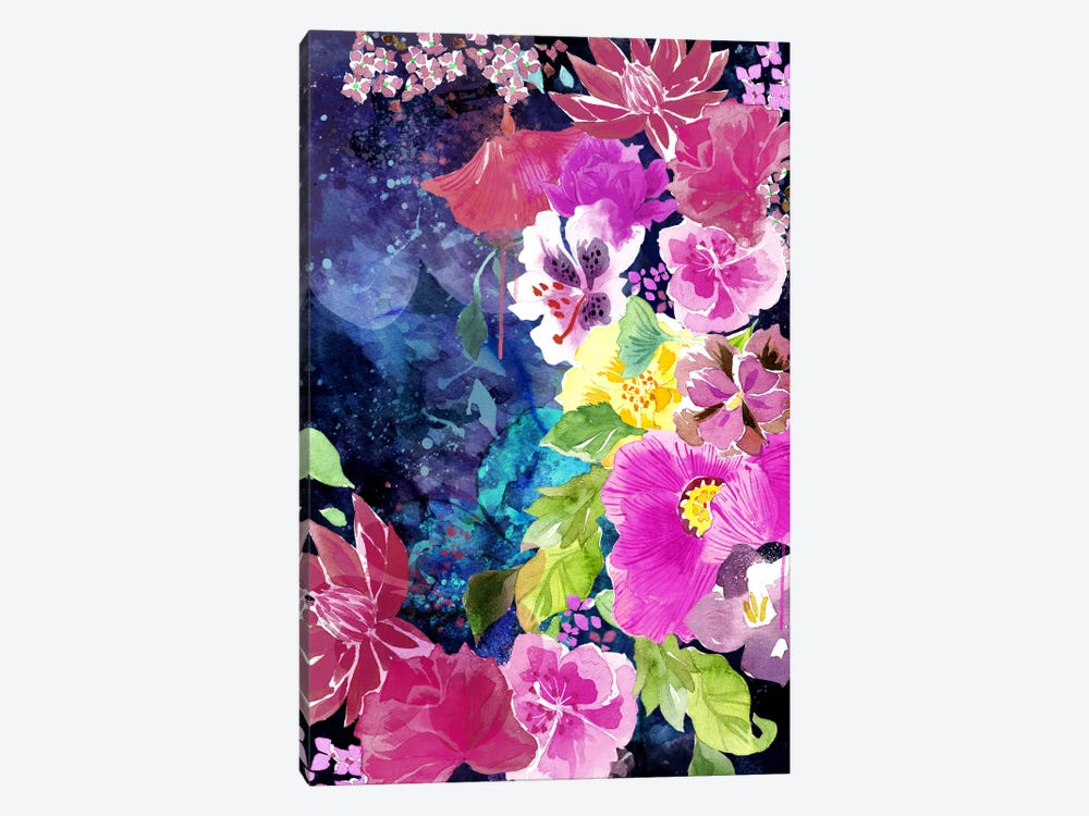 Everlasting Flowers by 5by5collective 1-piece Canvas Artwork