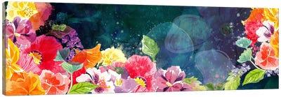 Flourishing Flowers Canvas Art Print