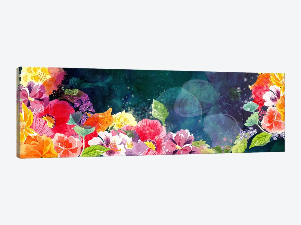 Flourishing Flowers by 5by5collective 1-piece Canvas Art Print