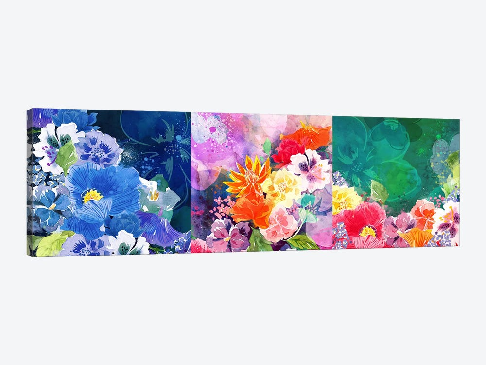 Joyous Blossoms by 5by5collective 1-piece Canvas Artwork