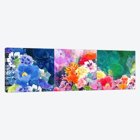 Joyous Blossoms Canvas Print #ICA1173} by 5by5collective Canvas Print