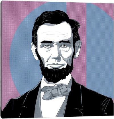 Honest Abe #2 Canvas Art Print