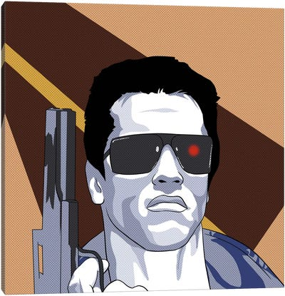 Terminate Canvas Art Print