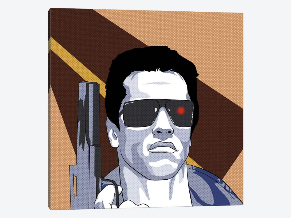 Terminate by 5by5collective 1-piece Canvas Wall Art