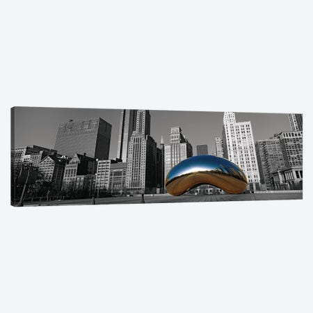 Cloud Gate Chicago Color Pop #2 Canvas Print #ICA1185} by Panoramic Images Art Print