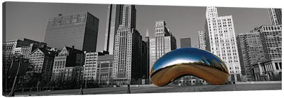 Cloud Gate Chicago Color Pop #2 Canvas Art Print