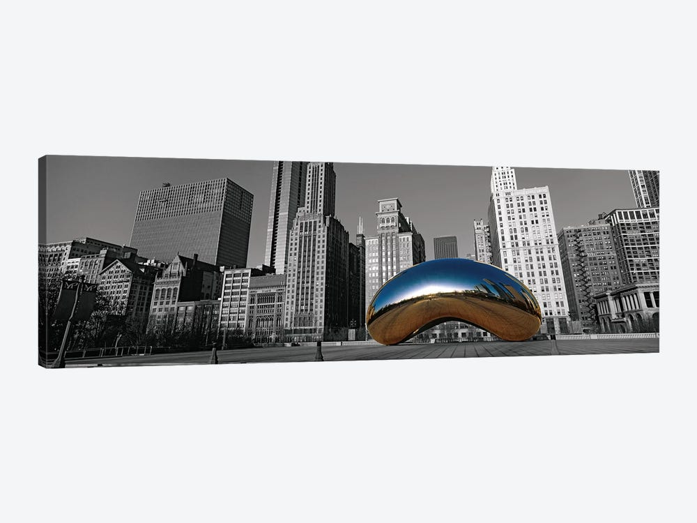 Cloud Gate Chicago Color Pop #2 by Panoramic Images 1-piece Canvas Art Print