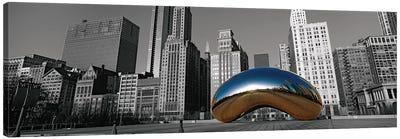 Cloud Gate Chicago Color Pop #2 Canvas Art Print