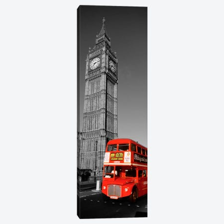 Big Ben, London, United Kingdom Color Pop Canvas Print #ICA1188} by Panoramic Images Canvas Wall Art