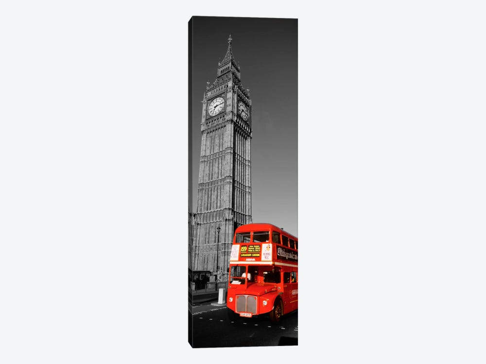 Big Ben, London, United Kingdom Color Pop by Panoramic Images 1-piece Canvas Artwork
