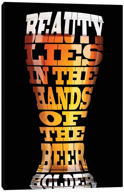 Beer Wisdom Canvas Art Print