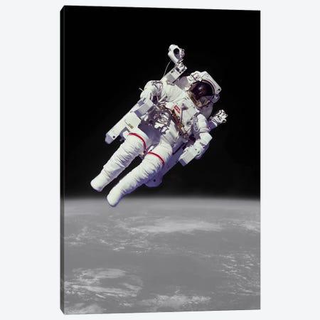 NASA Astronaut Canvas Print #ICA1202} by Unknown Artist Art Print