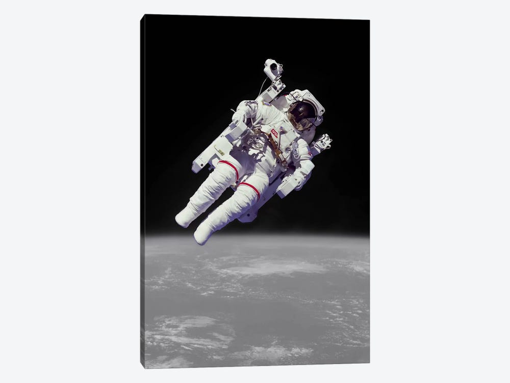 NASA Astronaut by Unknown Artist 1-piece Canvas Wall Art