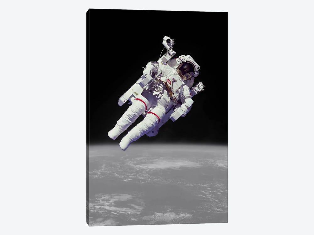NASA Astronaut by Unknown Artist 1-piece Canvas Wall Art