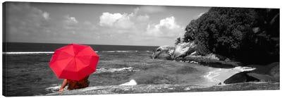 Indian Ocean Moyenne Island Seychelles Color Pop Canvas Art Print