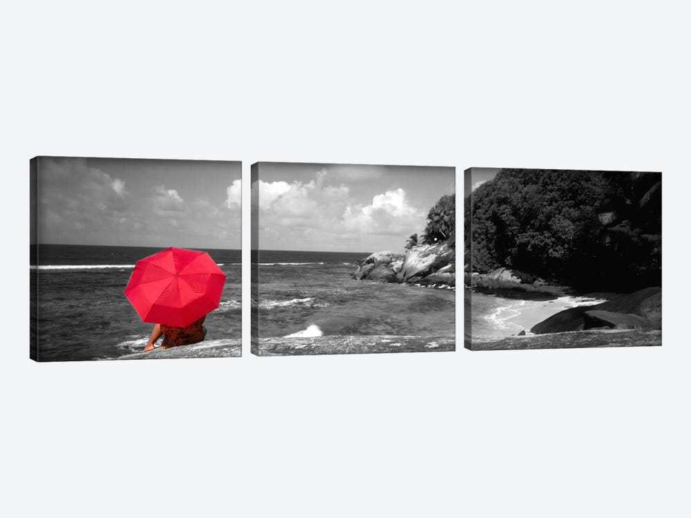 Indian Ocean Moyenne Island Seychelles Color Pop by Panoramic Images 3-piece Canvas Art Print