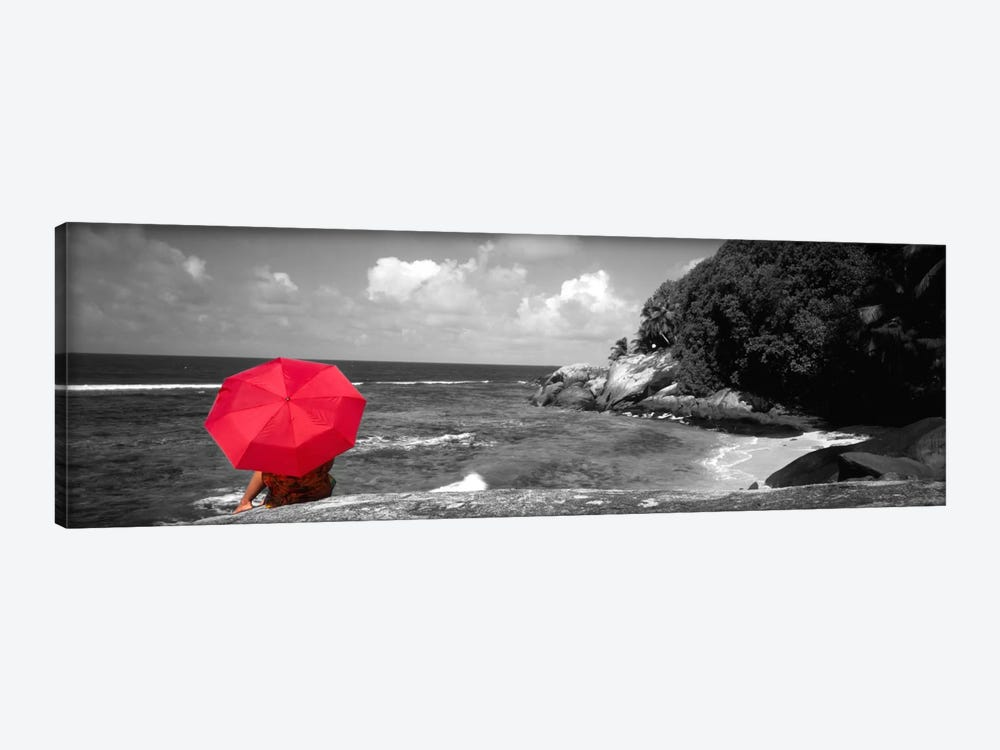Indian Ocean Moyenne Island Seychelles Color Pop by Panoramic Images 1-piece Canvas Art Print