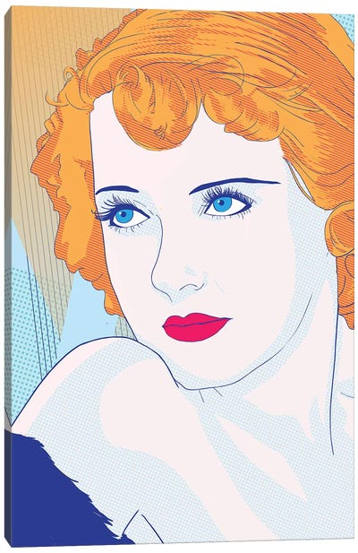 Bette Color Pop Canvas Art Print