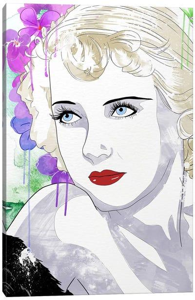 Bette Flower Color Pop Canvas Art Print