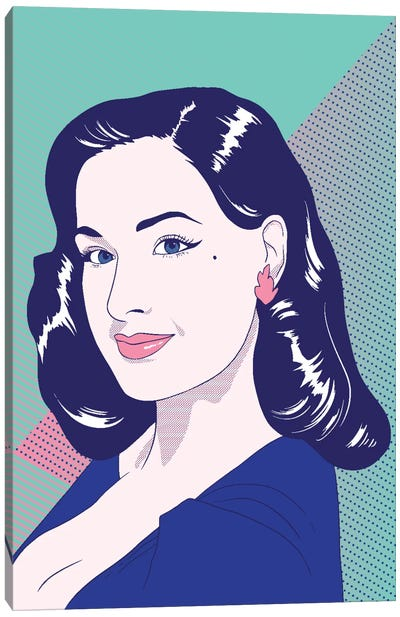 Dita Color Pop Canvas Art Print