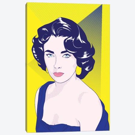 Elizabeth Color Pop Canvas Print #ICA1235} by 5by5collective Canvas Print
