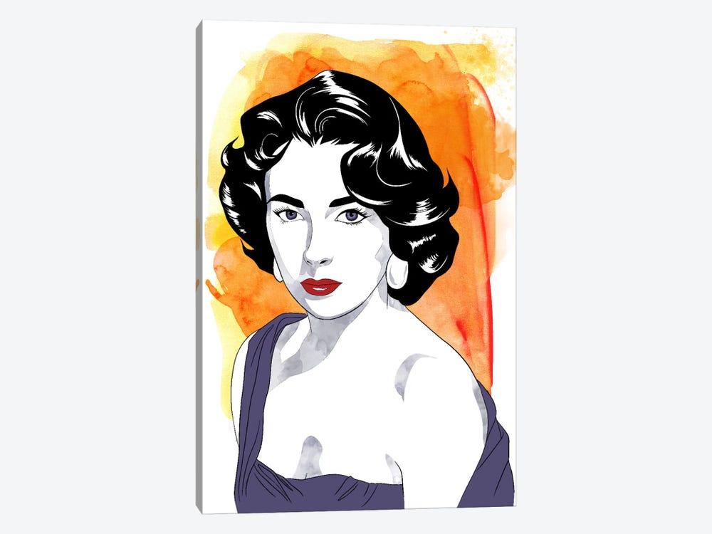 Elizabeth Watercolor Color Pop #2 by 5by5collective 1-piece Art Print