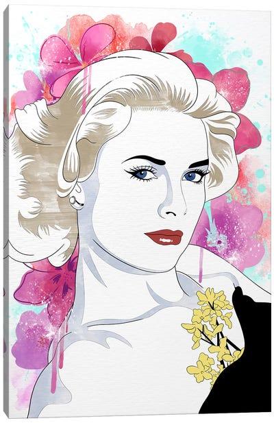 Grace Flower Color Pop Canvas Art Print