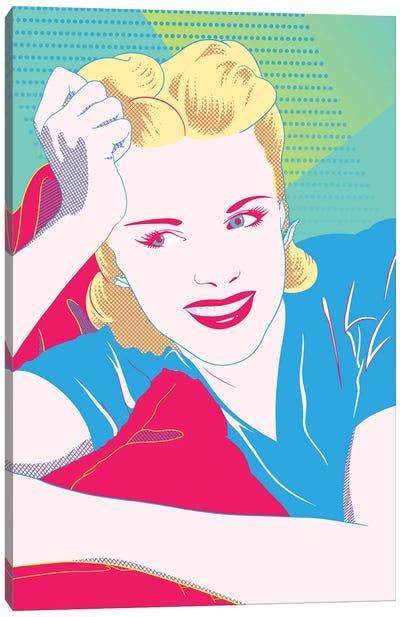 Judy Color Pop Canvas Art Print