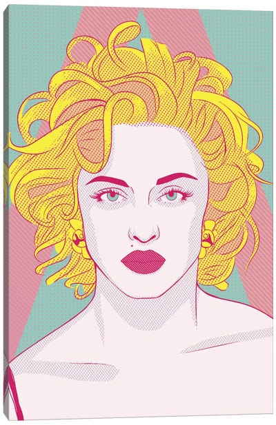 Madonna Queen of Pop Color Pop Canvas Art Print