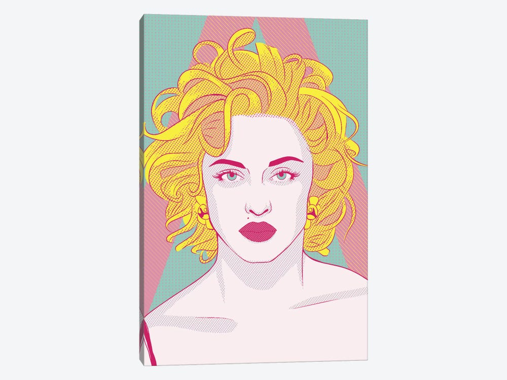 Madonna Queen of Pop Color Pop 1-piece Art Print