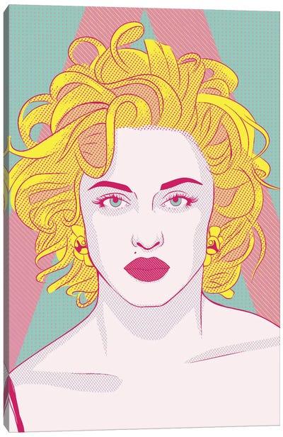 Madonna Queen of Pop Color Pop Canvas Art Print