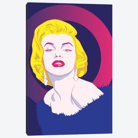 Va Va Voom Color Pop Canvas Print #ICA1256} by 5by5collective Art Print