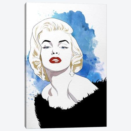Va Va Voom Watercolor Color Pop Canvas Print #ICA1257} by 5by5collective Canvas Art Print