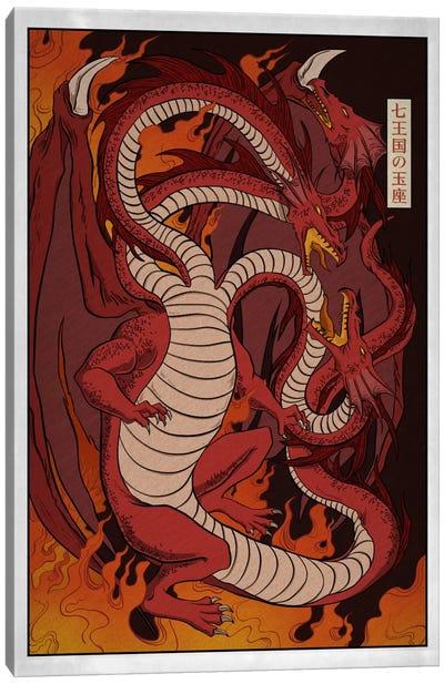 Targaryen House with Border Canvas Print #ICA1261