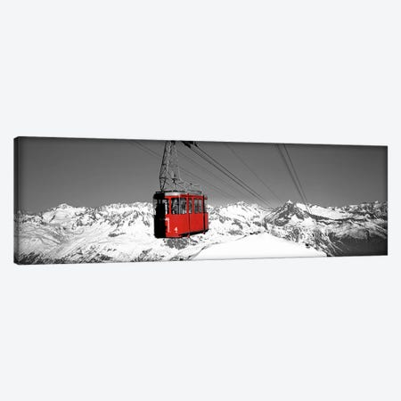 Cable Car Andermatt Switzerland Color Pop Canvas Print #ICA1267} by Panoramic Images Canvas Art